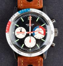"""Rare Vintage 1965 Breitling Co-Pilot """"Yachting"""" Chronograph Ref. 7650"""
