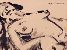 De Carrier, Max (1949- )  Nue de femme