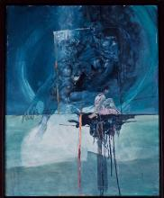 Lafrance, Jean-Pierre (1943-) Attente sous le soleil bleu (1984)