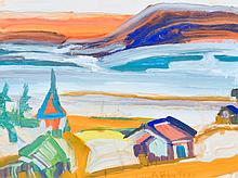 Bluteau, Alban (1923-2015)  Port-au-Persil (1978)