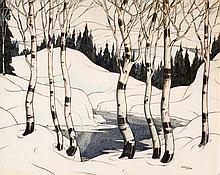 Norwell, Graham Noble (1901-1967)  Fonte des neiges