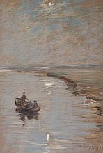 Des Clayes, Gertrude (1879-1949)  From a bridge near Naples