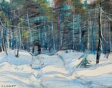 Coburn, Frederick Simpson (1871-1960)  Foret en hiver
