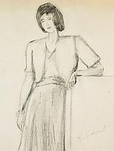 Mount, Rita (1888-1967)  Femme