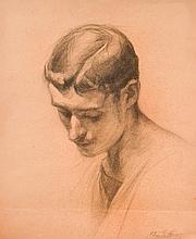 Lemoine, Edmond (1877-1922)  Portrait de jeune homme