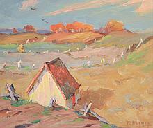 Duguay, Rodolphe (1891-1973)  Paysage et maison