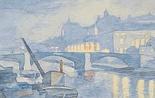Clause, William Lionel (1887-1946) (Grande-Bretagne/Great-Britain) Sur la Seine