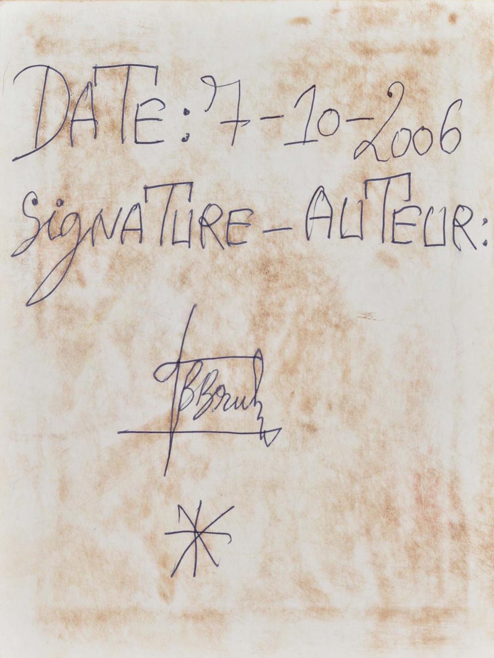 Bouabré, Fréderic Bruly - Un homme [...] au coeur blanc - 2006