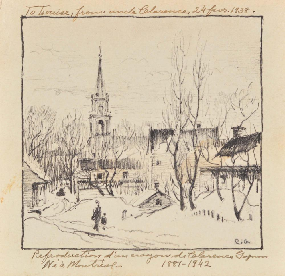Gagnon, Clarence Alphonse - Paysage de campagne