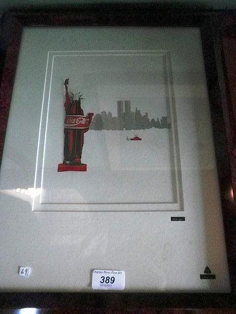 Martin Allen A Can Art Coca Cola Collage Of The