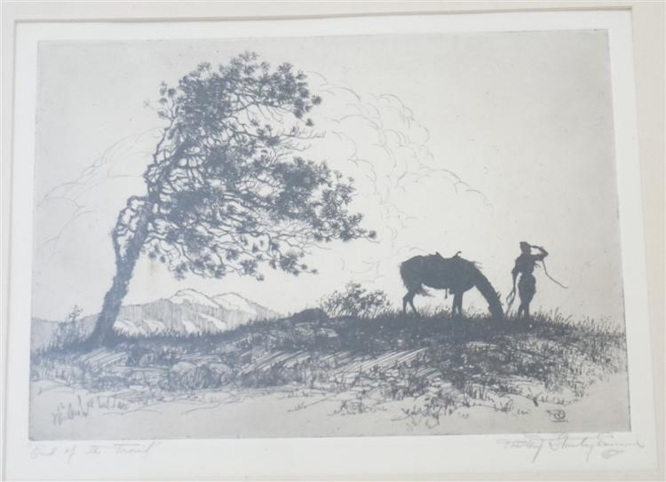 DOROTHY STANLEY EMMONS 1930s ETCHING
