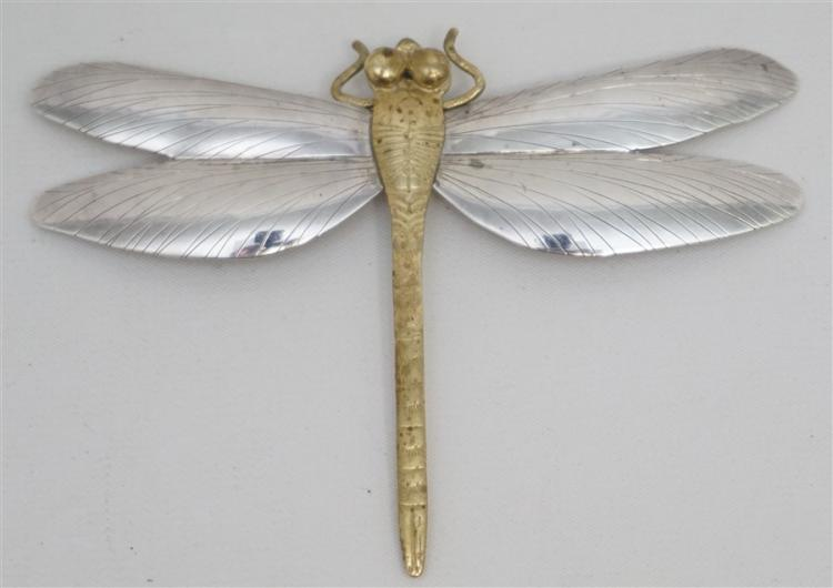 LARGE STERLING DRAGONFLY COURTNEY DESIGNS