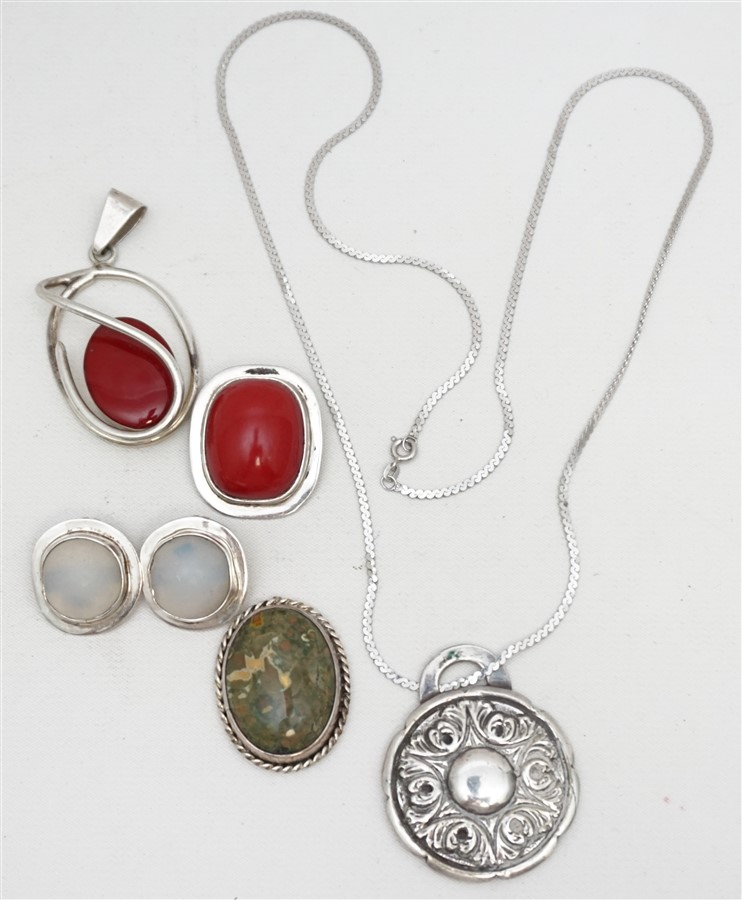 5 PC STERLING R. PINTO ZUNI + AMY KAHN RUSSELL