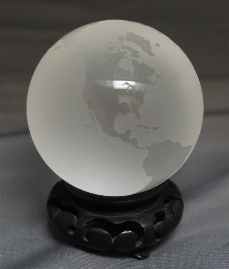 TIFFANY & CO. WORLD GLOBE PAPERWEIGHT