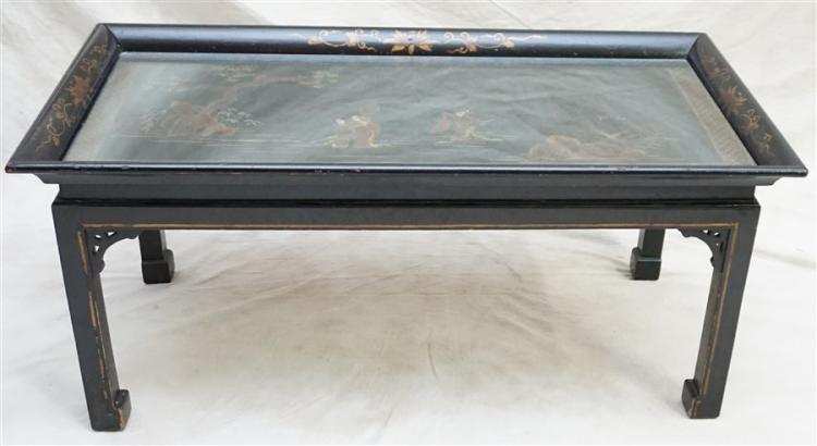 CHINESE GILT DECORATED ALTAR TABLE