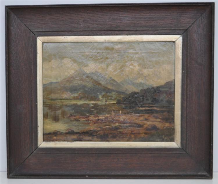 TOM VALLANCE (1856-1835) SCOTTISH LANDSCAPE