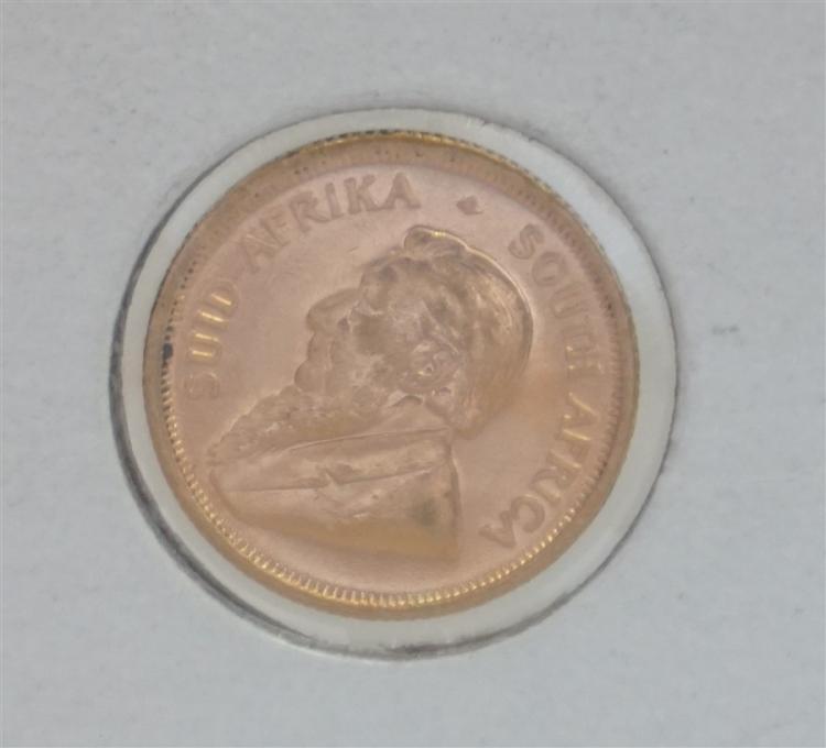 1984 GOLD SOUTH AFRICAN KRUGERRAND