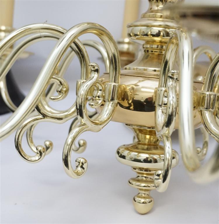 American Solid Brass Chandelier 15 Light
