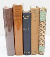 5 ANTIQUARIAN BOOKS - NATURE - SINCLAIR LEWIS +