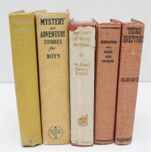 5 VINTAGE CHILDRENS BOOKS 1920-30S