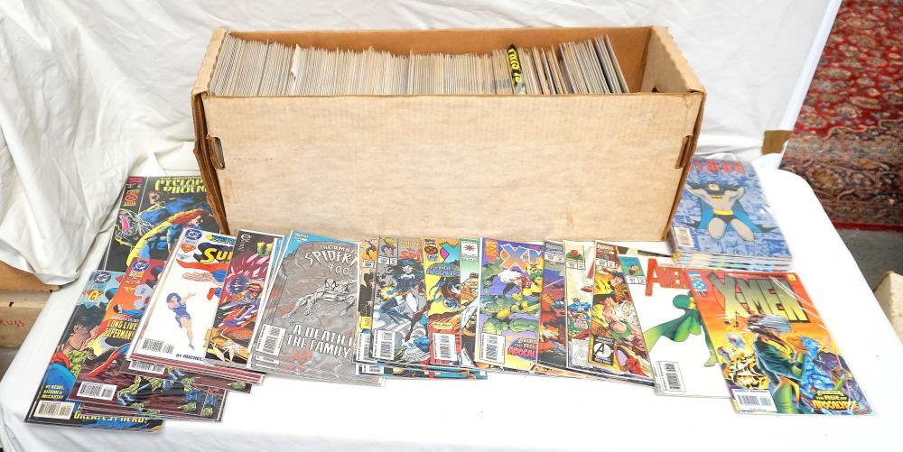 THE AVENGERS, X-MEN, BATMAN & MORE 1990'S COMICS