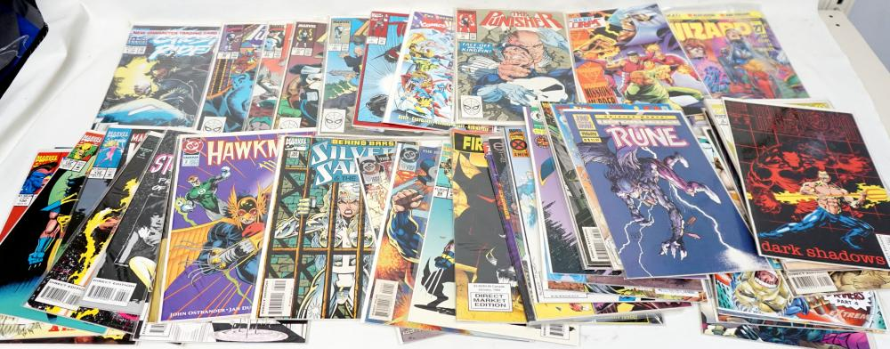 LARGE LOT OF VINTAGE COMICS ~ DC, MARVEL, 1st ISSUES & MORE