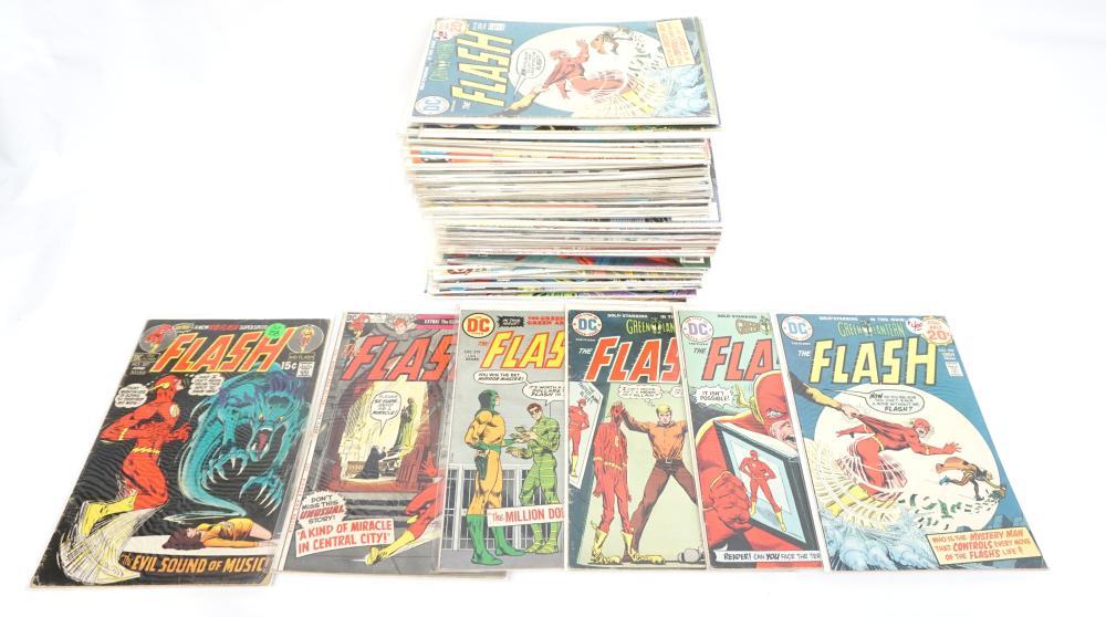 DC THE FLASH BRONZE AGE- MODERN COMICS