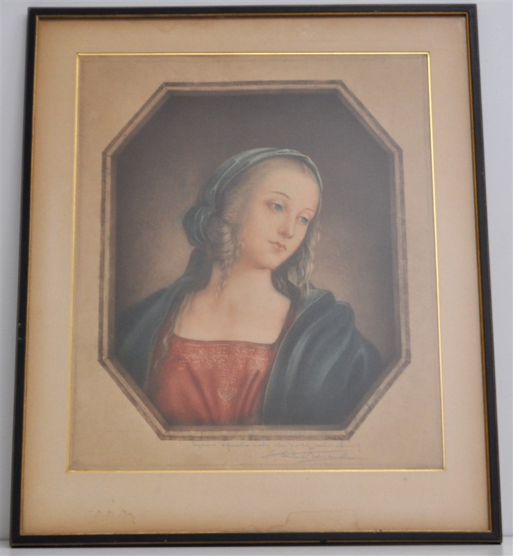19th c. FRENCH HAND COLORED ENGRAVING