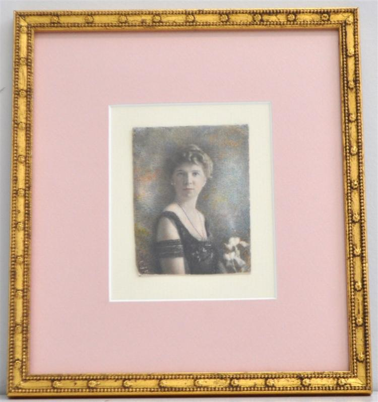 EXCEPTIONAL OIL PORTRAIT MINIATURE CJF