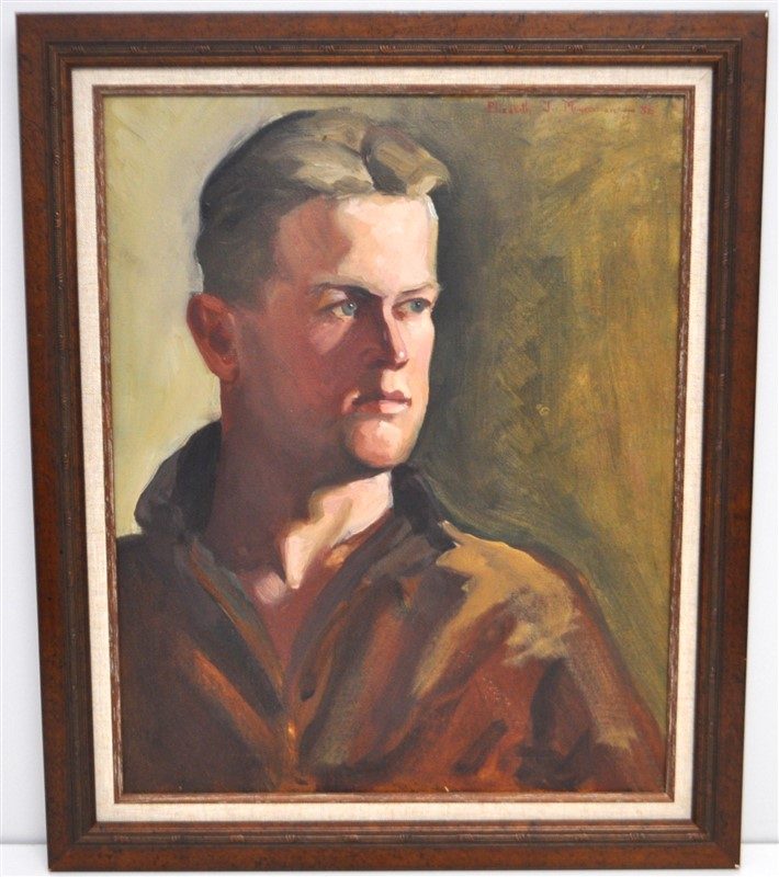 ELIZABETH MOYNAHAN 1936 PORTRAIT OF A MAN