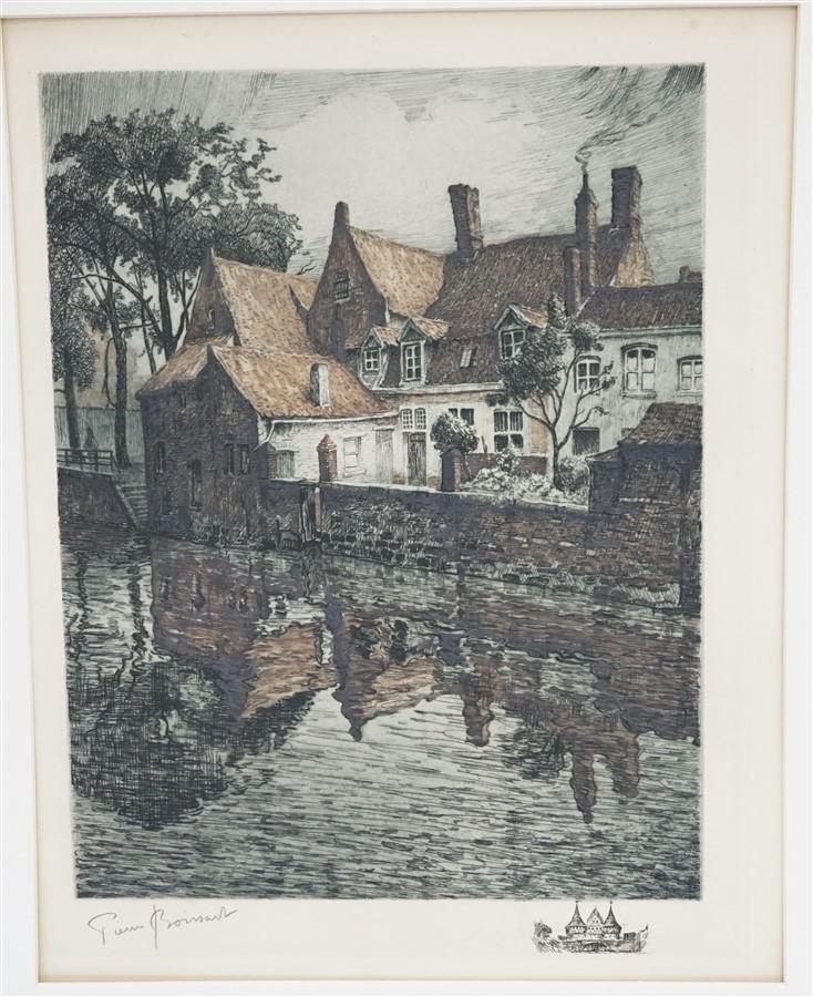 PIERRE PAUL BOISSART (1718-1944) ENGRAVING
