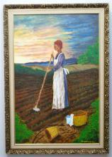 MCGREGOR (1923-2015) FOLK ART CHARLESTON SC