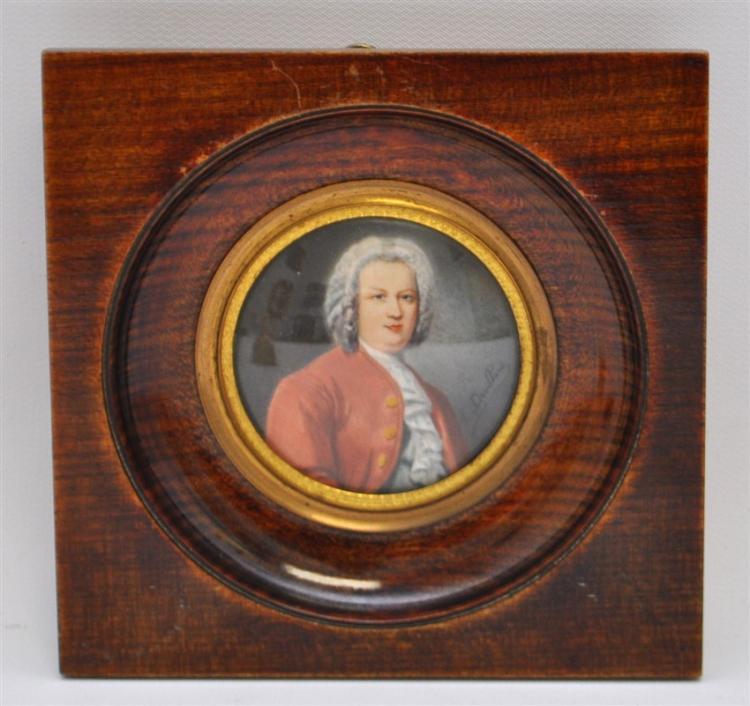 DOUILLARD (1835-1905) FRENCH MINIATURE PORTRAIT