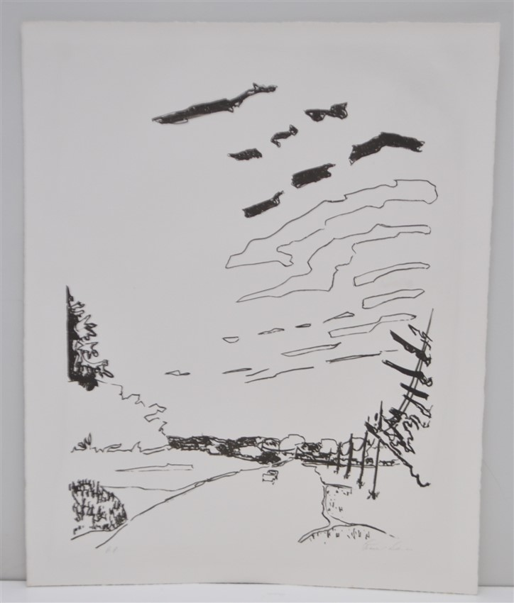ROBERT DASH (1934-2013) SIGNED ARTISTS PROOF
