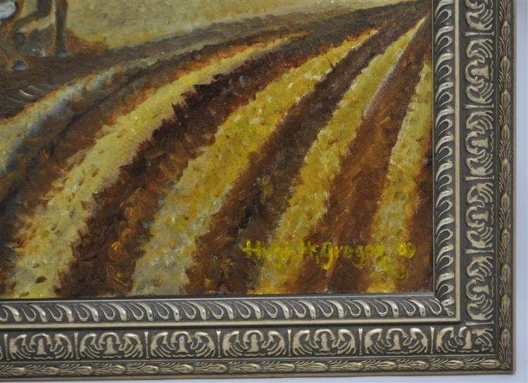 MCGREGOR FOLK ART CHARLESTON - FARMER