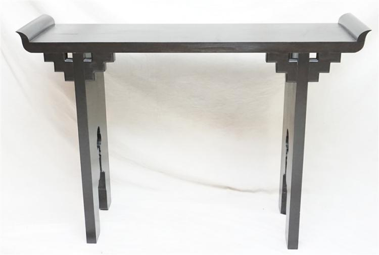 CHINESE ALTAR TABLE W PEACOCKS