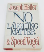 SIGNED JOSEPH HELLER NO LAUGHING MATTER