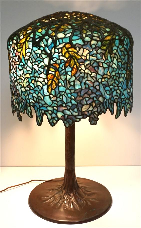WISTERIA TIFFANY STYLE LAMP