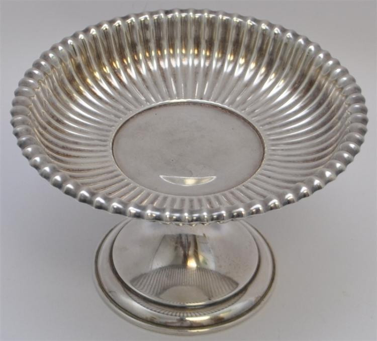 GORHAM STERLING SILVER FLUTED COMPOTE