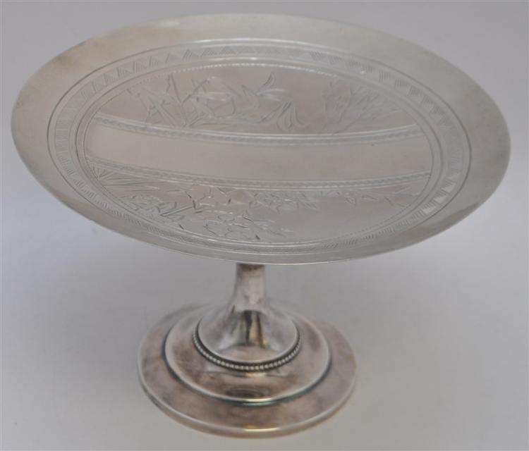 WHITING STERLING AESTHETIC CAKE PLATE