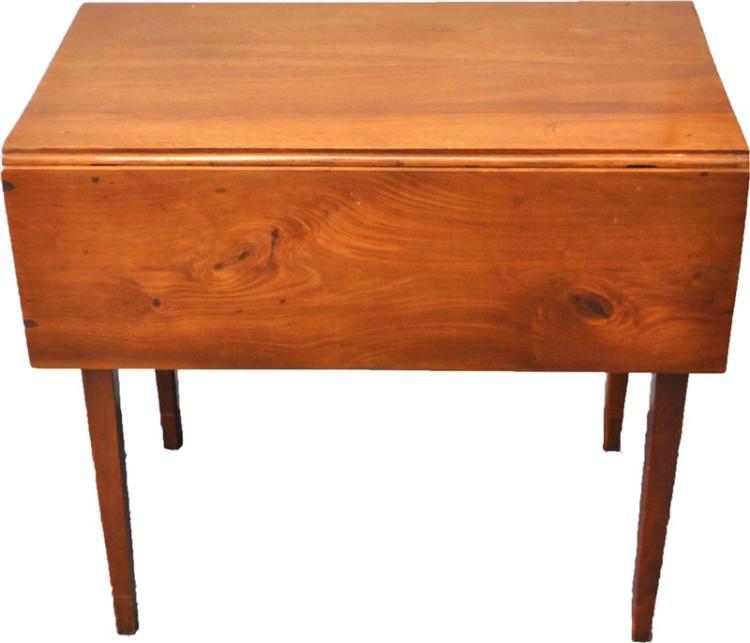AMERICAN HEPPLEWHITE DROP LEAF TABLE