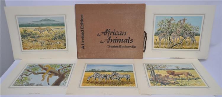 CHARLES BASKERVILLE (1896-1994) AFRICAN ANIMALS