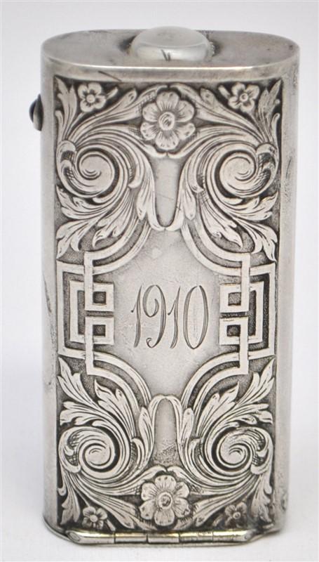 STERLING SILVER 1904 EVERREADY POCKETLIGHT