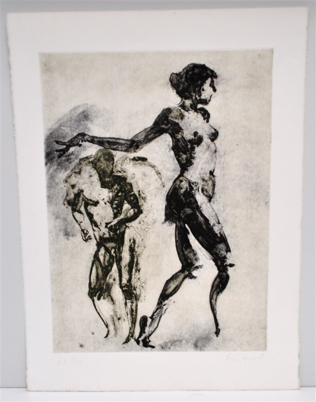 ERIC FISCHL SIGNED ETCHED SOLAR PRINT A/P
