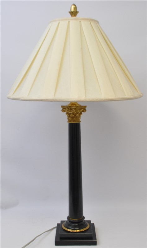 THEODORE ALEXANDER CORINTHIAN BRONZE LAMP