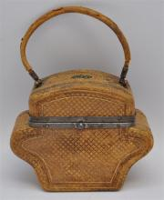 19th c. TRAVEL SEWING / VANITY KIT ETUI
