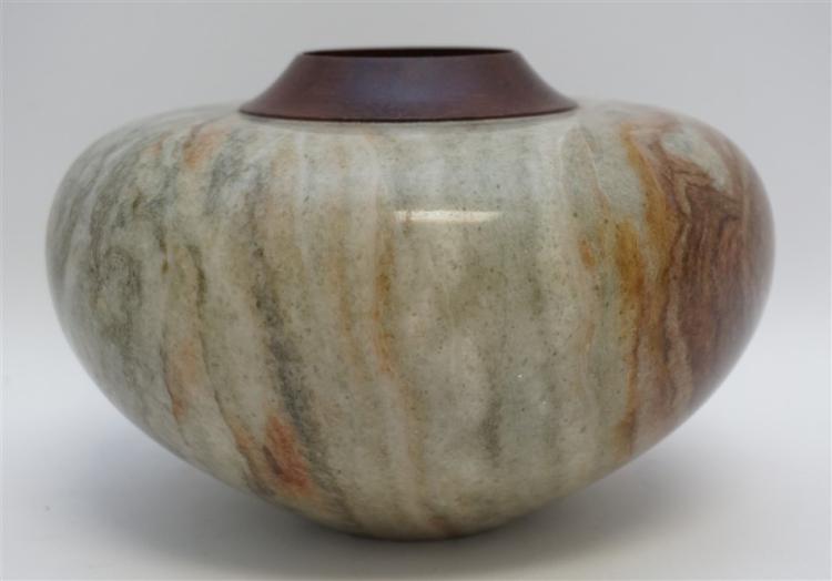 George westbrook alabaster vase for Home decor 91304
