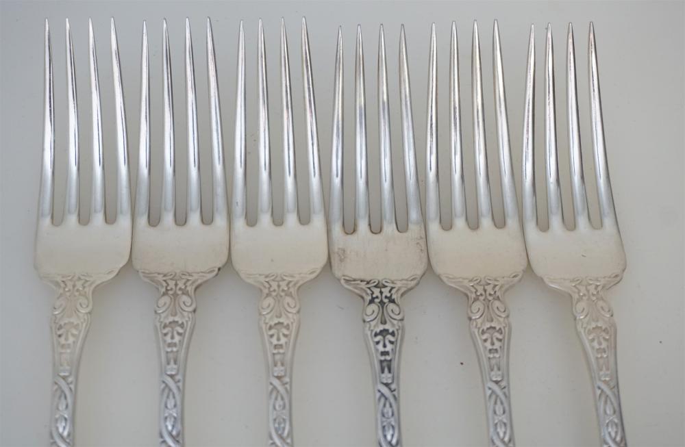 """Berain by Wallace Sterling Silver Dinner Fork 7 1//2/"""" Flatware"""