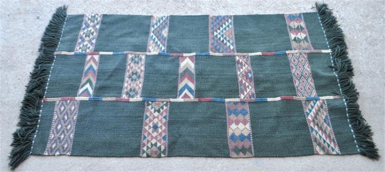 Al Hweitat Bedouin Panel Hand Made Wool Rug