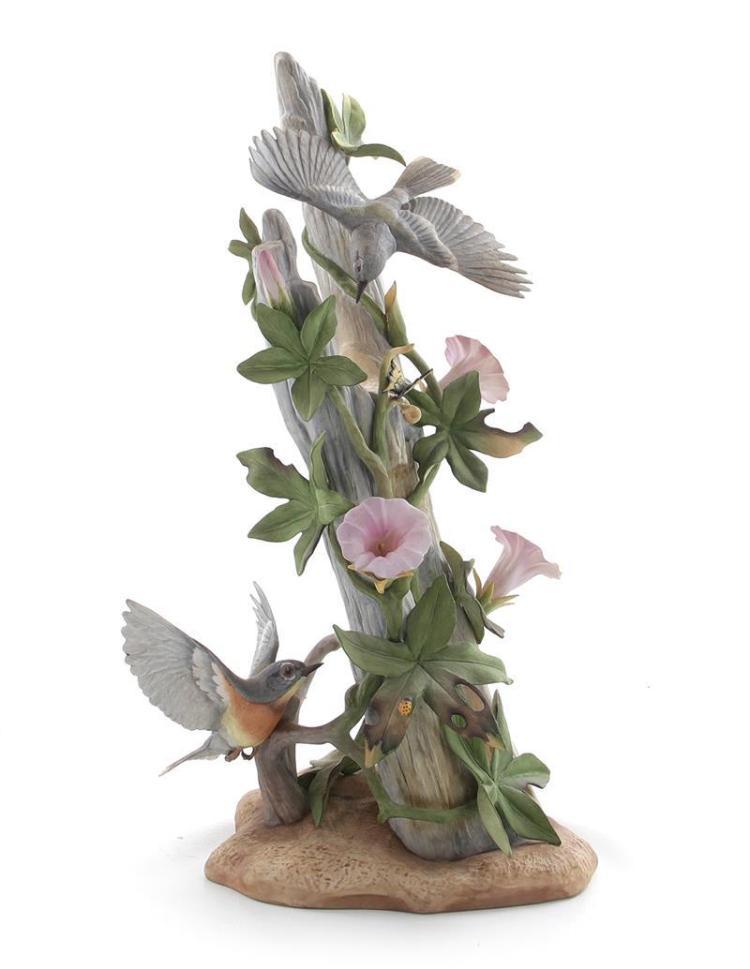 Boehm porcelain Parula Warblers